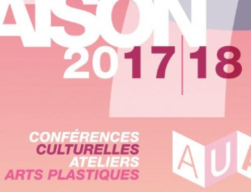 Intervention dans le cadre de l'Association Universitaire et Artistique de Neuilly